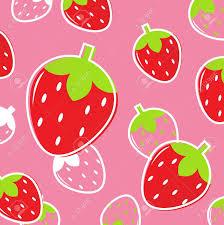 strawberry margarita clipart stylized tasty fruit pattern vector illustration royalty free