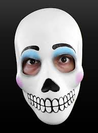Day Of The Dead Masks Of The Dead Mask La Catrina Made Of Latex