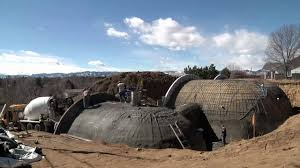 bermed earth sheltered homes featured project uba dome youtube