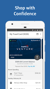 Capital One Spark Business Card Login Capital One Wallet Android Apps On Google Play