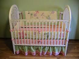 Pink And Green Crib Bedding Baby Nursery Beautiful Pink Baby Nursery Room Design Using