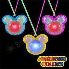 led necklaces boas light up lanyards bongo