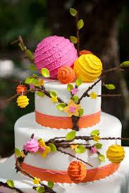 162 best 3 multi coloured wedding cakes images on pinterest
