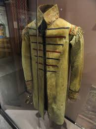 file european style coat iroquioian or huron collected in 1839