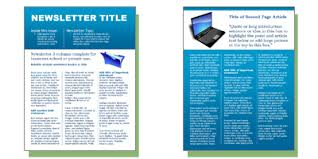 100 monthly newsletter template free examples of newsletters