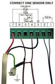 warmfloor th1 electronic thermostat warmfloor underfloor heating