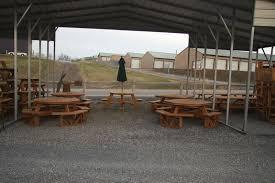wood picnic tables air hill lawn furniture
