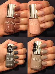 the beauty of life nails inc colour collection swatches