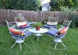 chic ideas mid century outdoor furniture patio midcentury