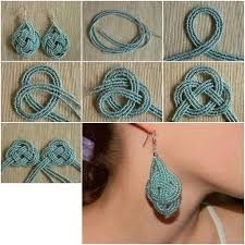 earrings diy diy knotted earrings pictures photos and images for