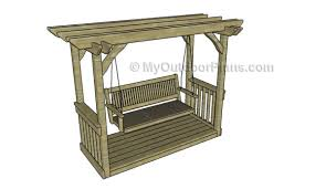 arbor swing plans arbor swing plans myoutdoorplans free woodworking plans and