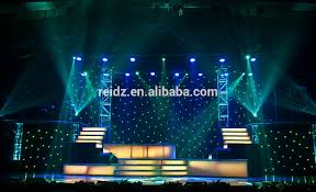 Stage Decoration For Christmas Party by Interior Lighting Stage Decoration Curtain Exhibition Design