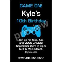 birthday party invitations fast printable templates design