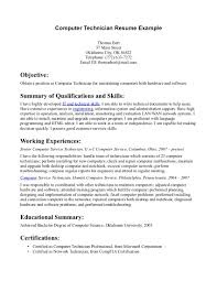 self employment on resume example cover letter resume sample for computer technician sample resume cover letter resume templates computer technician samples pc self employed sampleresume sample for computer technician extra