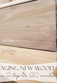 How To Make Old Wood Cabinets Look New 25 Unique Aged Wood Ideas On Pinterest Aging Wood Distressing