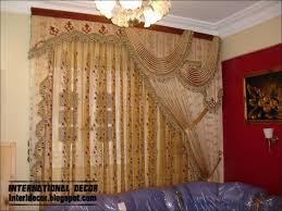 interiors kitchen window treatments draped shade curtain custom
