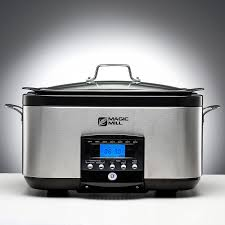 amazon com magic mill 5 in 1 6 quart multi cooker slow cooker