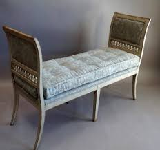 upholstered benches with arms foter