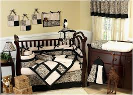 Animal Print Crib Bedding Sets Leopard Print Baby Bedding Baby Zebra Crib Bedding