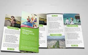 brochure design indesign templates in design brochure template 21