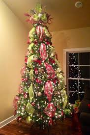 mesh ribbon ideas christmas tree deco mesh tree topper beautiful and green