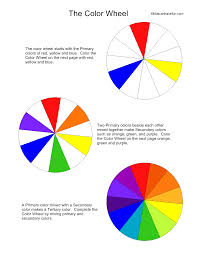 fashionable color wheel for kids colors for children to learn with