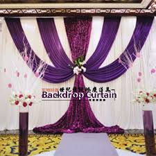Wedding Backdrop Background Aliexpress Com Buy Red Wedding Backdrop Curtain Sequins Swag