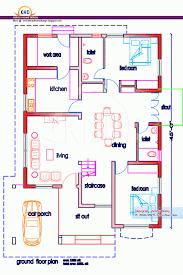 Floor Plan Database 3 Bedroom House Design In Indian Memsaheb Net