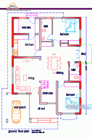 2 Bhk Home Design Layout 3 Bedroom House Design In Indian Memsaheb Net
