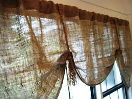 rustic curtains burlap drapes u2014 joanne russo homesjoanne russo homes