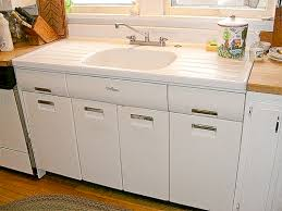 Joe Replaces A Vintage Porcelain Drainboard Kitchen Sink With A - Old fashioned kitchen sinks