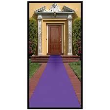 purple aisle runner purple aisle runner walmart