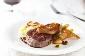 chateaubriand cuisine recette de chateaubriand gratin de pomme de terre panais rôti au