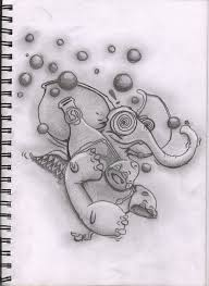 tattoo project lsd elephant by madjambi on deviantart
