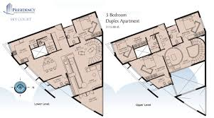 duplex apartment floor plans india