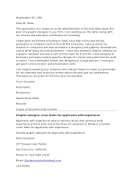 new junior designer cover letter 13 with additional resume cover