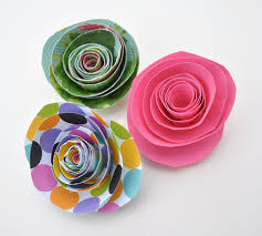 Make Your Own Paper Flowers - paper flower fun and new shop items coming soon club chica