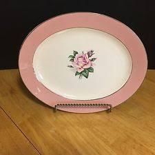 homer laughlin vintage homer laughlin usa pink apple blossom vintage 14 china platter