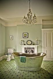 make a splash into your bathroom design with green