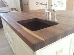walnut kitchen island handmade thick walnut top for kitchen island by kodama