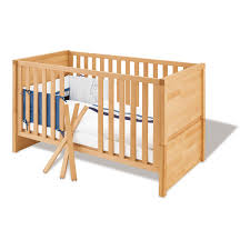 chambre bébé bois naturel lit bébé évolutif fagus 70x140 bois massif pinolino natiloo com