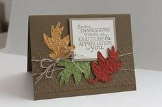 stin up thanksgiving cards ideas the mad