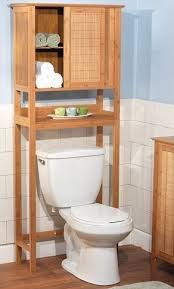Bathroom Storage Toilet Bamboo Space Saver Bathroom Storage Space