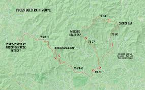 Gold Line Map Fools Gold 60 Course And Maps Mountain Goat Adventures