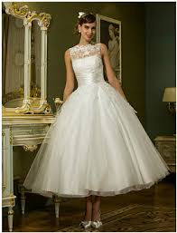 21 best tea length wedding dresses everafterguide