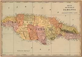 Map Of Jamaica Blank by Nationmaster Maps Of Jamaica 11 In Total