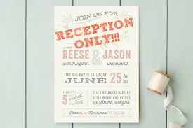 wedding reception only invitation wording reception only invitation wording inspiration ebookzdb