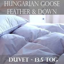 4 5 Tog Feather Duvet Feather Double Duvets Ebay