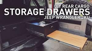 overland jeep kitchen diy drawer system for jeep wrangler cing overlanding youtube