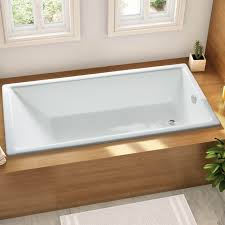 nh 005 built in cast iron bathtub thick enameled coating